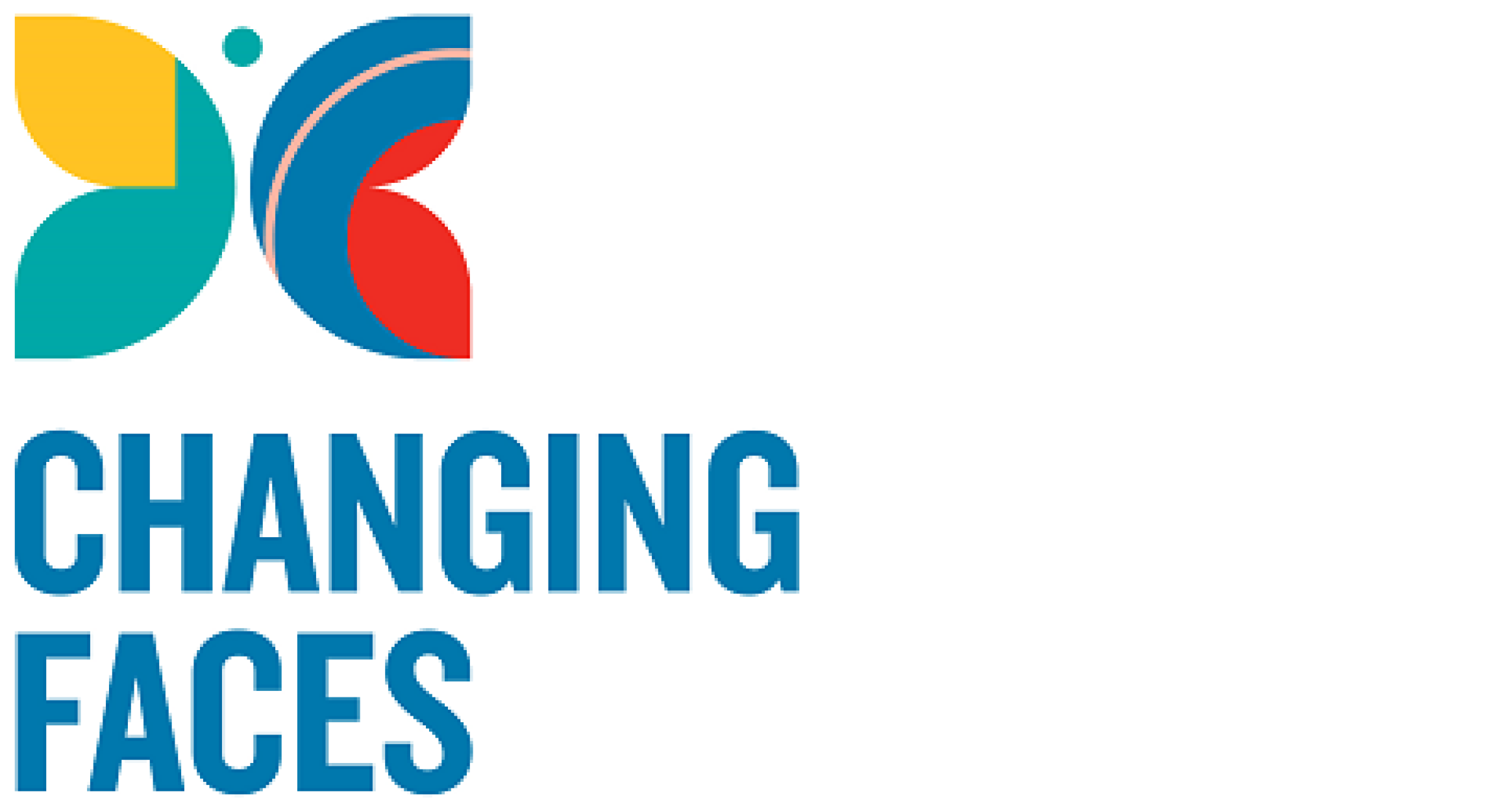 Changing faces logo